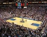 Target Center basketball