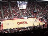 Thomas and Mack Center basketball