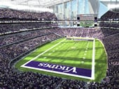 U.S. Bank Stadium football