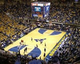 WVU Coliseum basketball