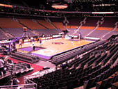 Toronto Raptors Seat View for Scotiabank Arena Section 111