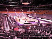 Toronto Raptors Seat View for Air Canada Centre Section 115
