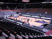 Toronto Raptors Seat View for Scotiabank Arena Section 117