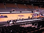 Toronto Raptors Seat View for Air Canada Centre Section 120