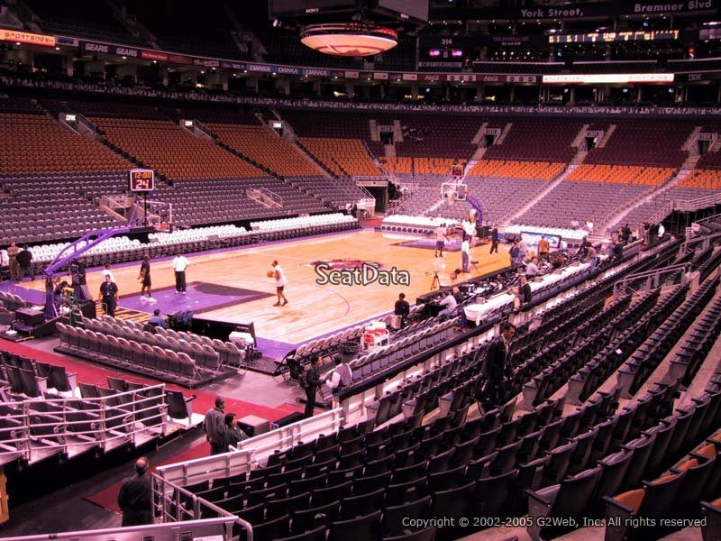 Scotiabank Arena Section 122 Toronto Raptors