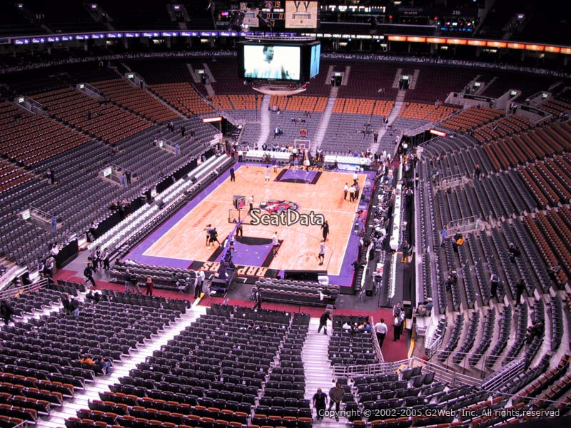 Best Seats At Air Canada Centre For Raptors Games