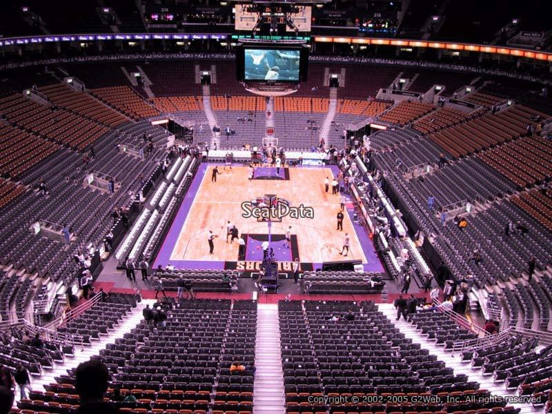 Scotiabank Arena Section 303 - Toronto Raptors ...