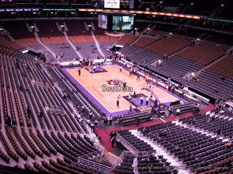 Scotiabank Arena Section 305 Toronto Raptors