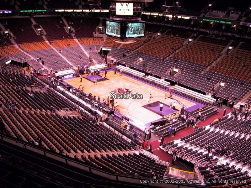 Scotiabank Arena Section 318 Toronto Raptors