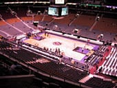 Toronto Raptors Seat View for Air Canada Centre Section 319
