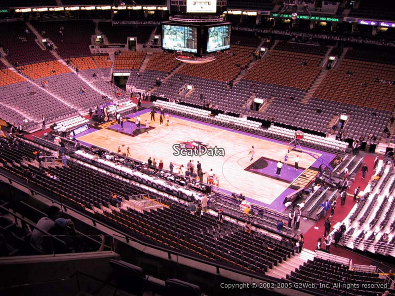 Scotiabank Arena Section 319 - Toronto Raptors ...