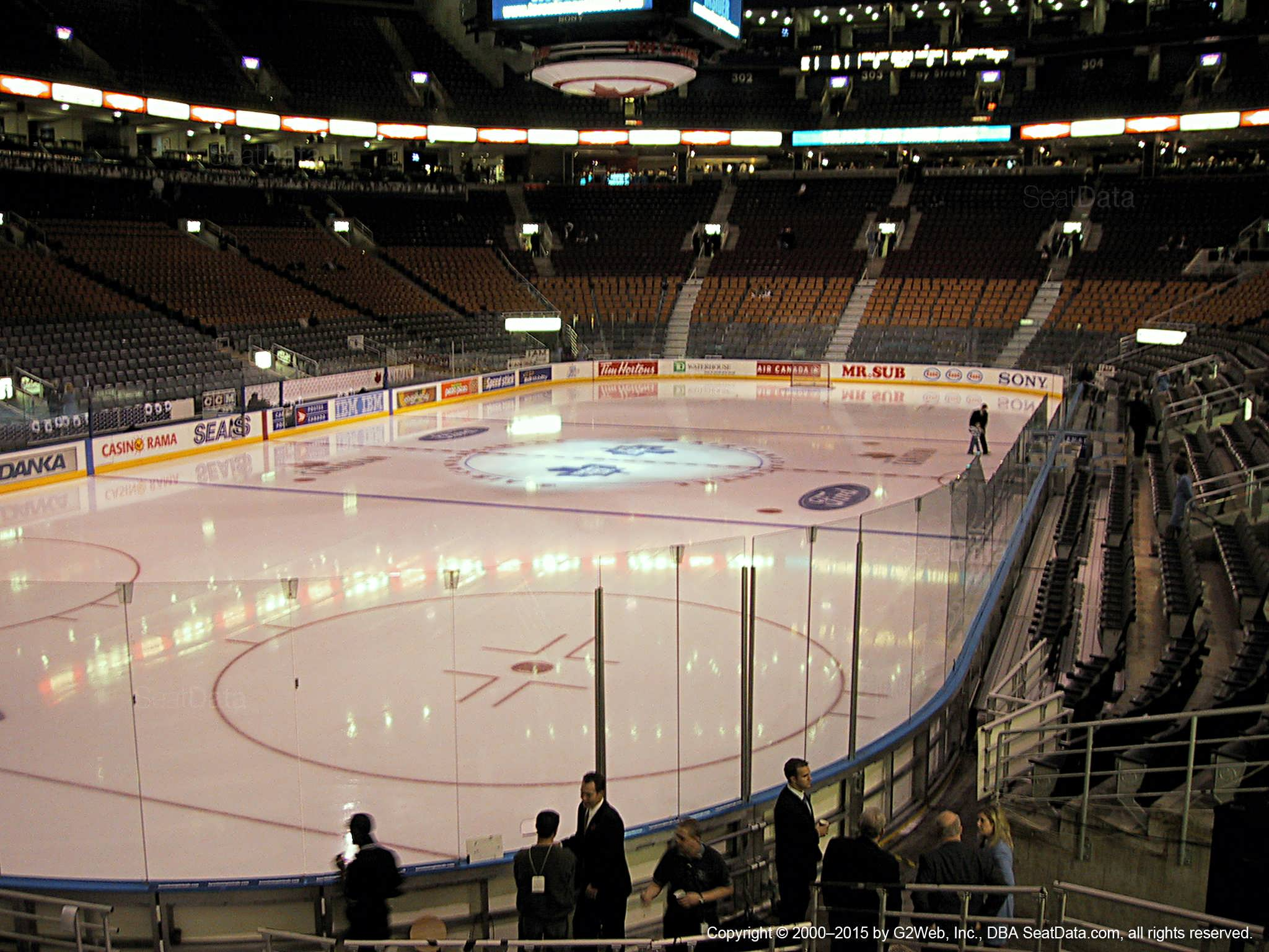 Air Canada Centre Section 112 - Toronto Maple Leafs ...