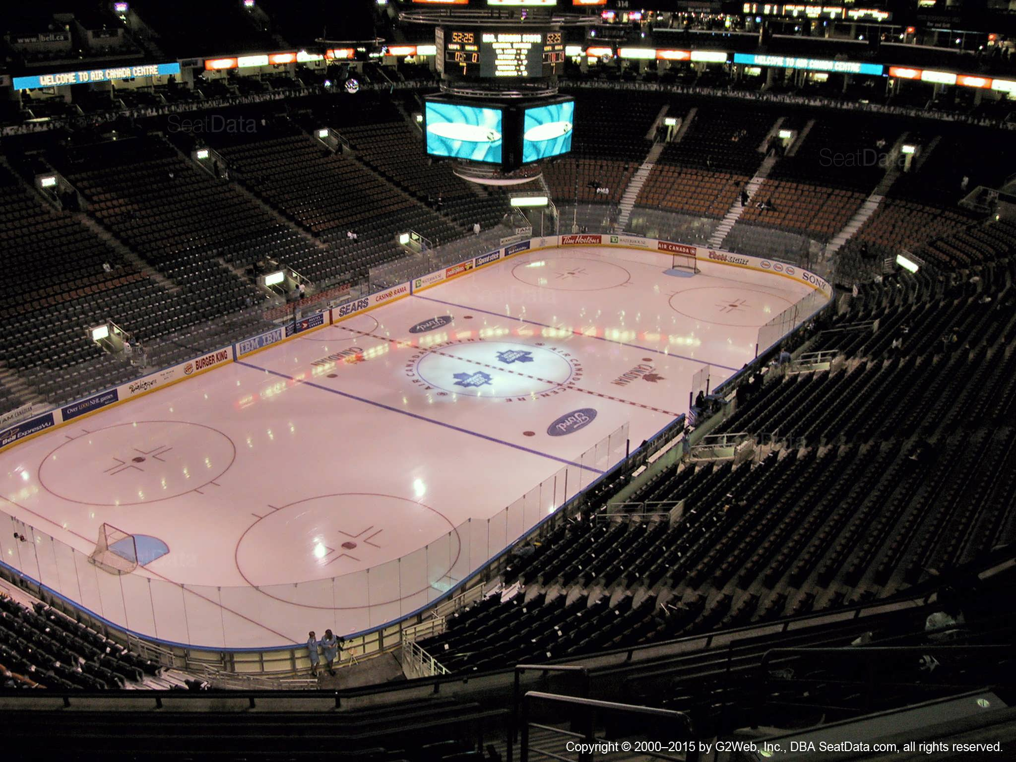 Scotiabank Arena Section 301 - Toronto Maple Leafs ...