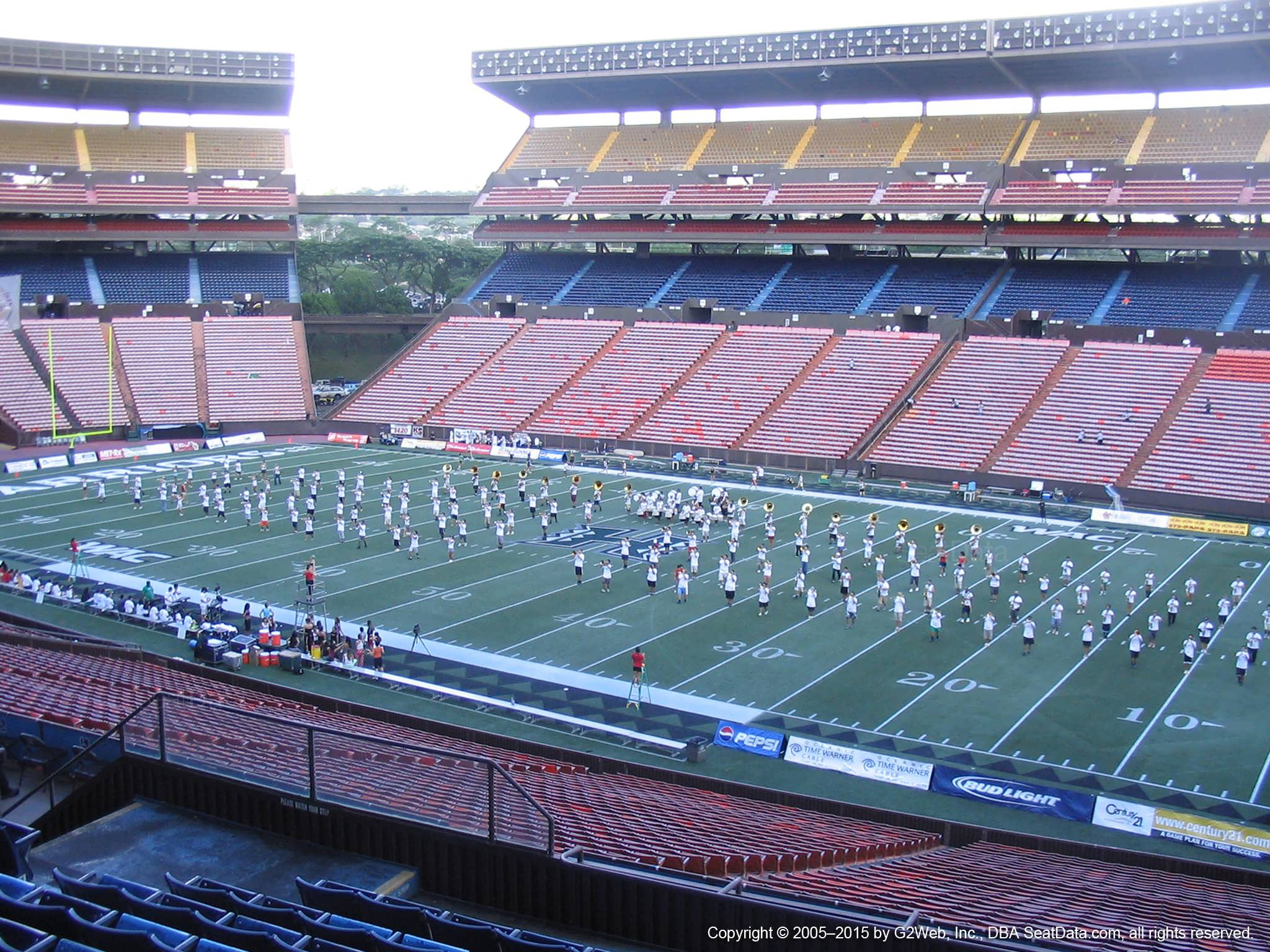 Aloha Stadium Blue G - RateYourSeats com