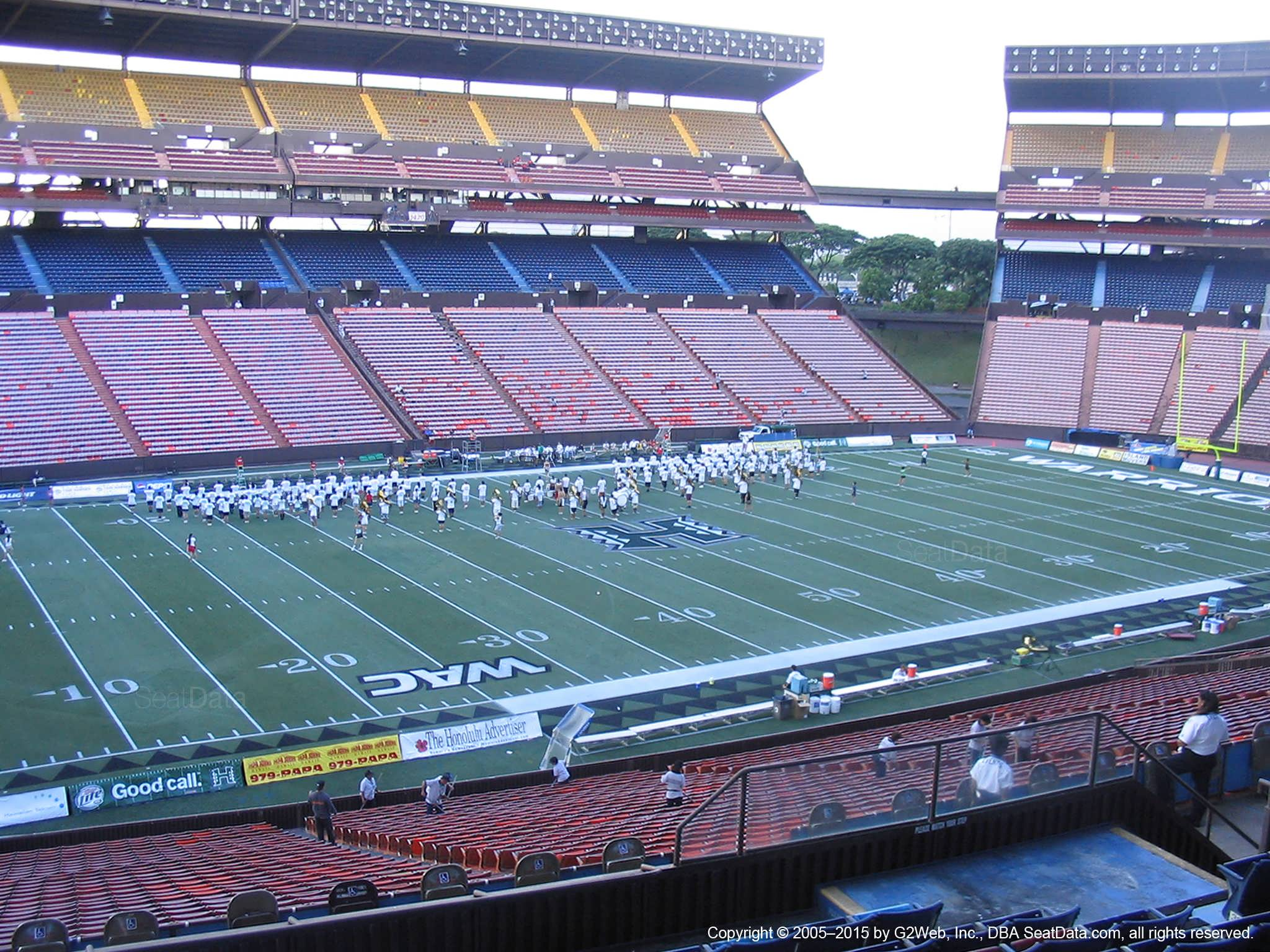 Aloha Stadium Blue GG - RateYourSeats com
