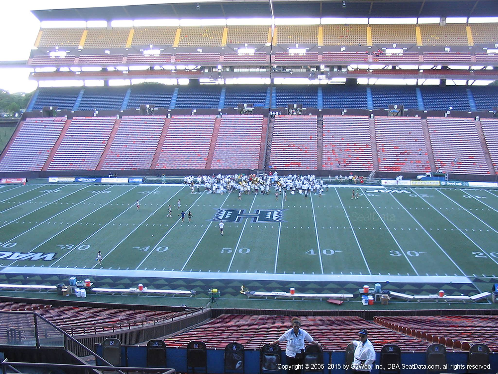 Seat View for Aloha Stadium Blue LL