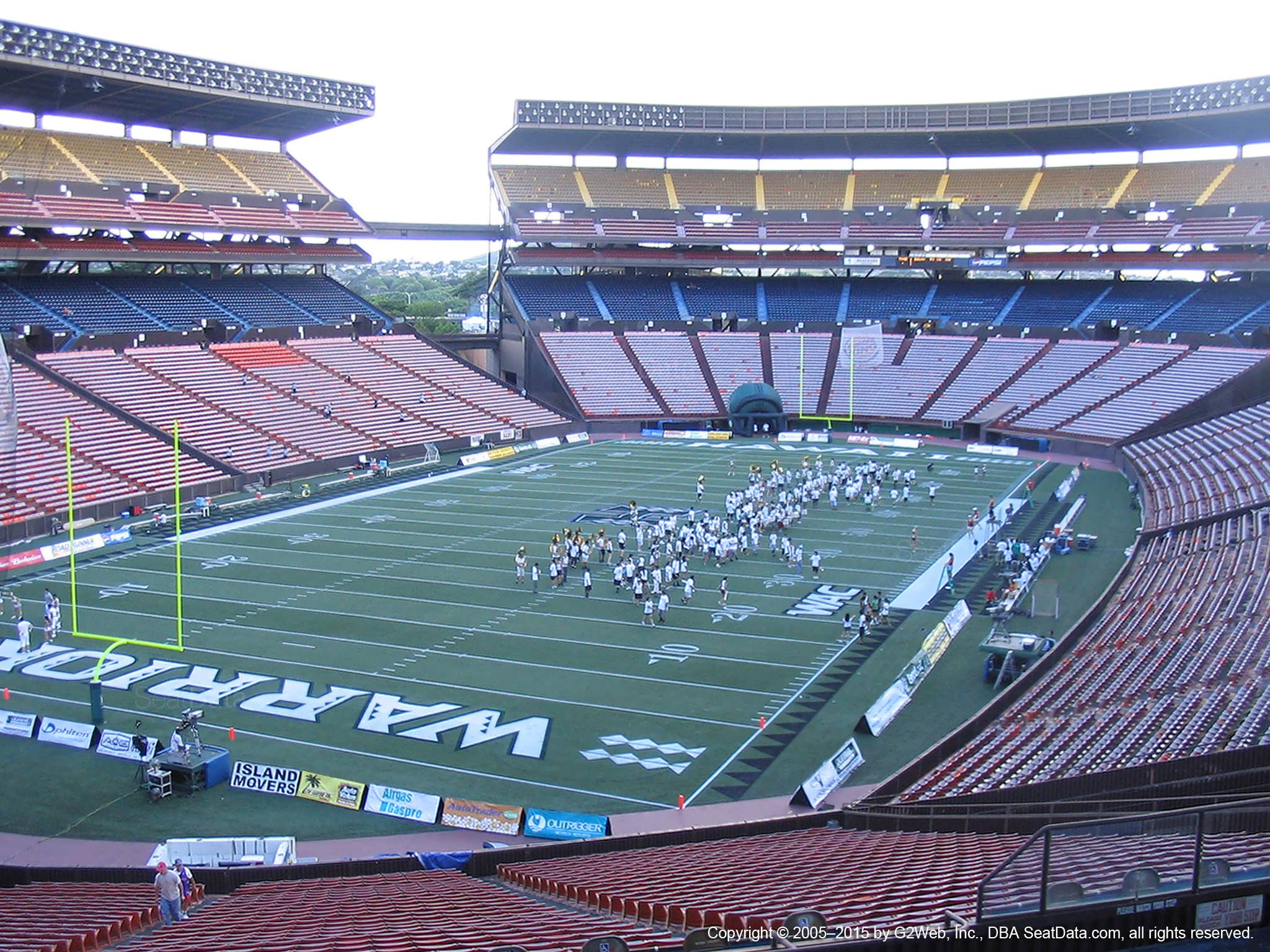 Seat View for Aloha Stadium Blue S