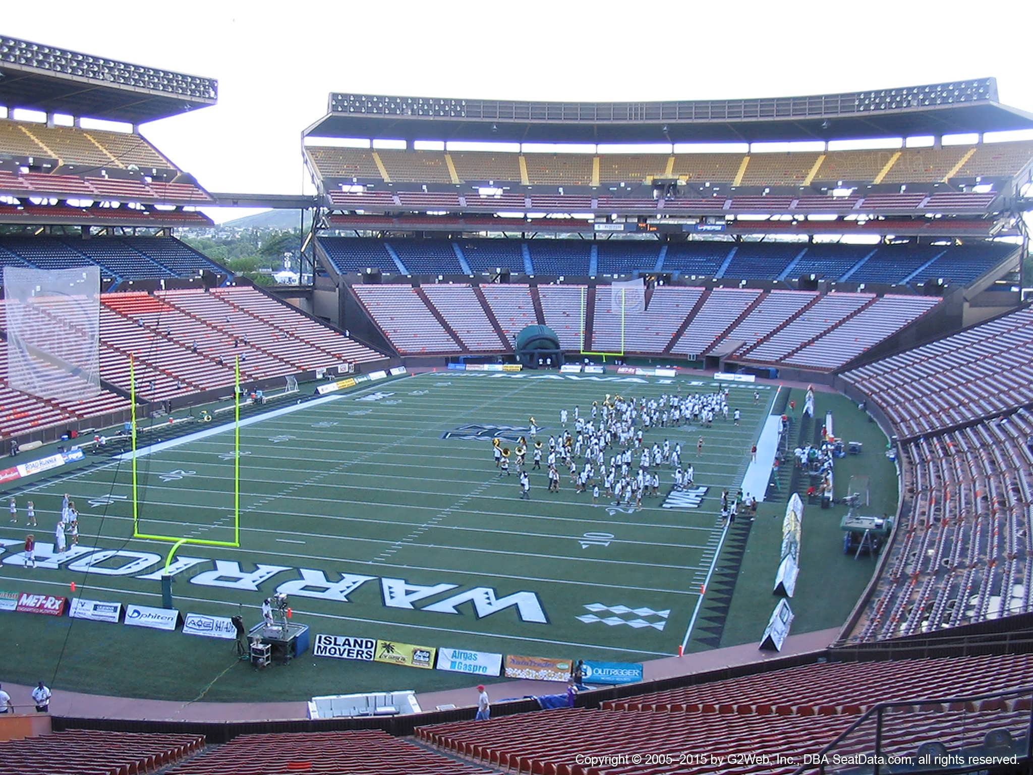 Seat View for Aloha Stadium Blue T