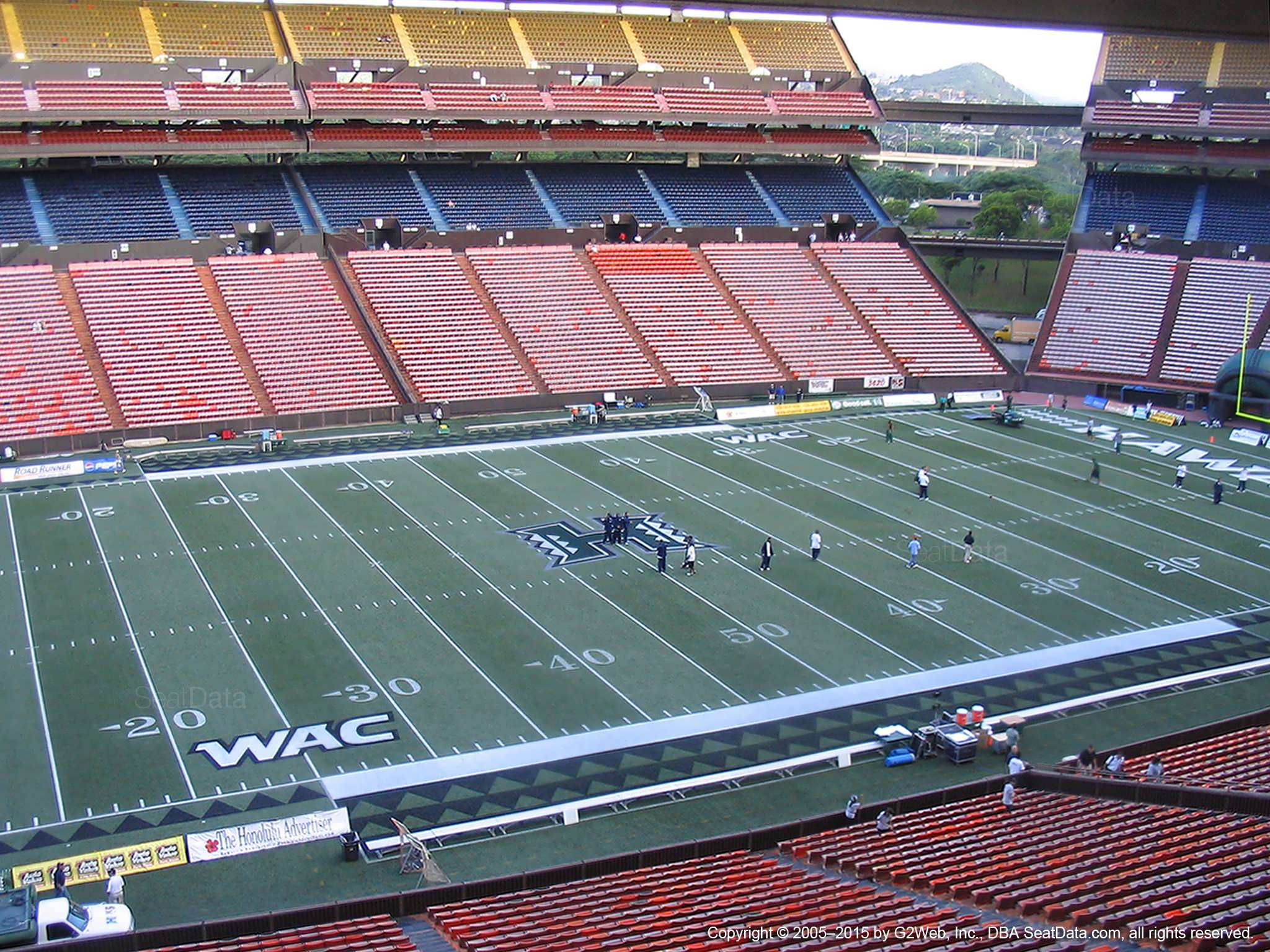 Seat View for Aloha Stadium Brown N