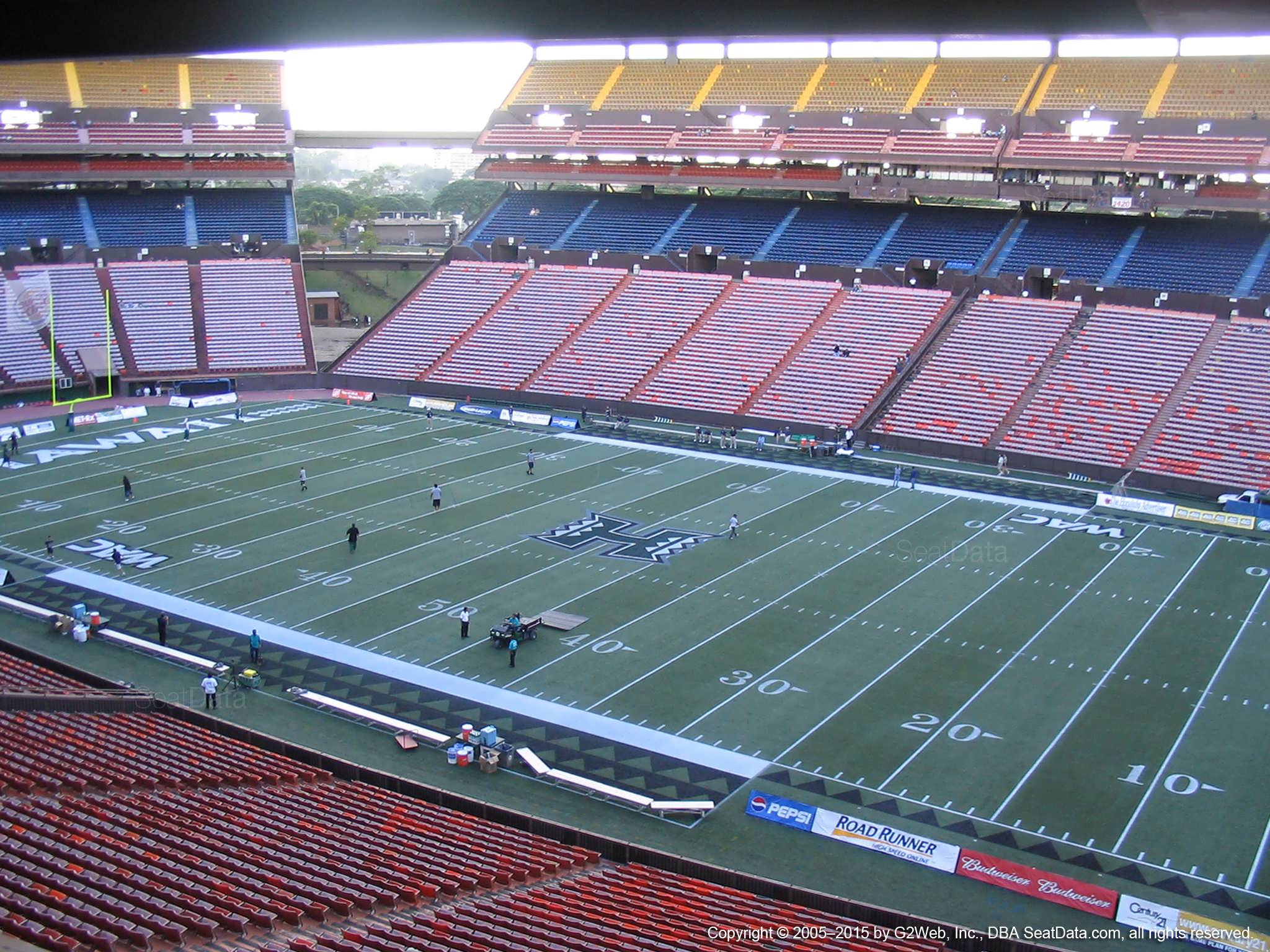 Seat View for Aloha Stadium Brown PP