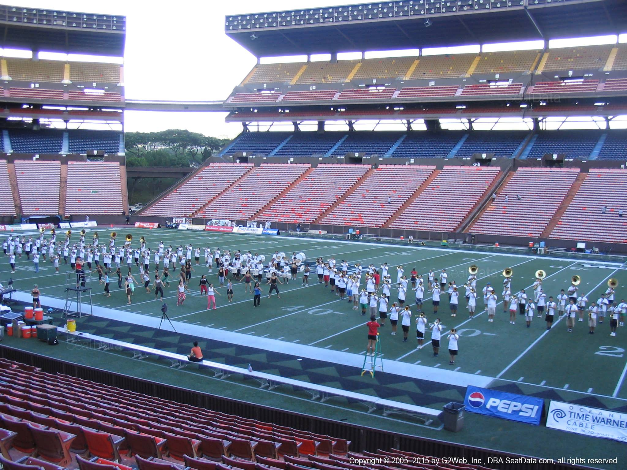 Seat View for Aloha Stadium Orange H