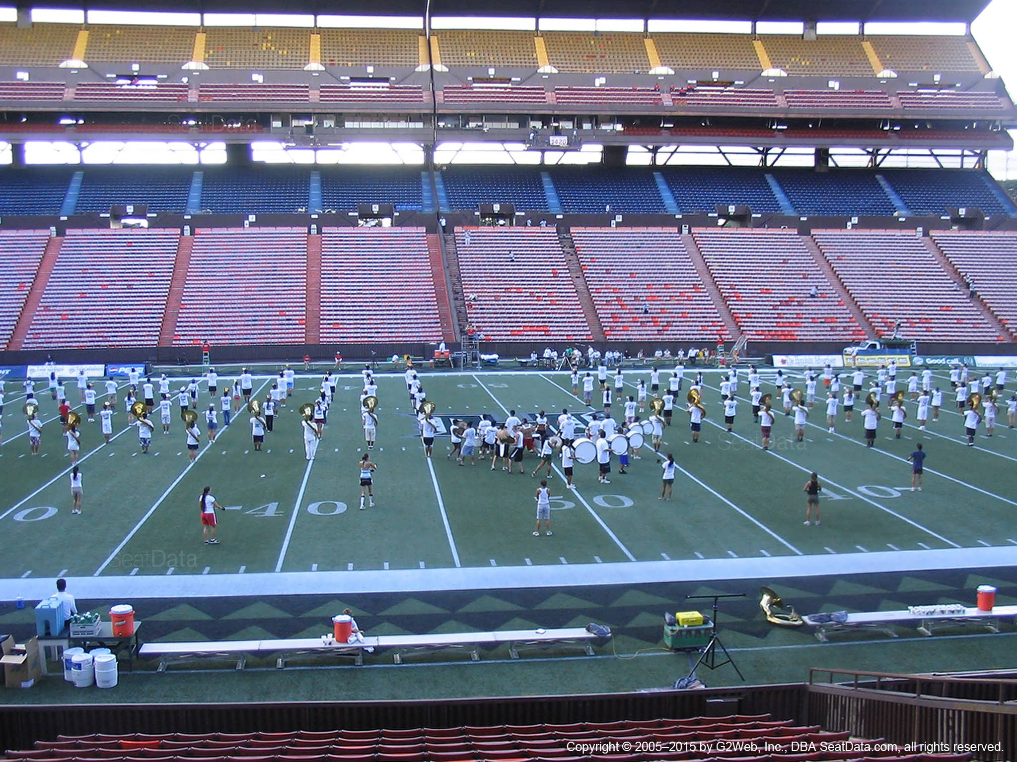 Seat View for Aloha Stadium Orange KK
