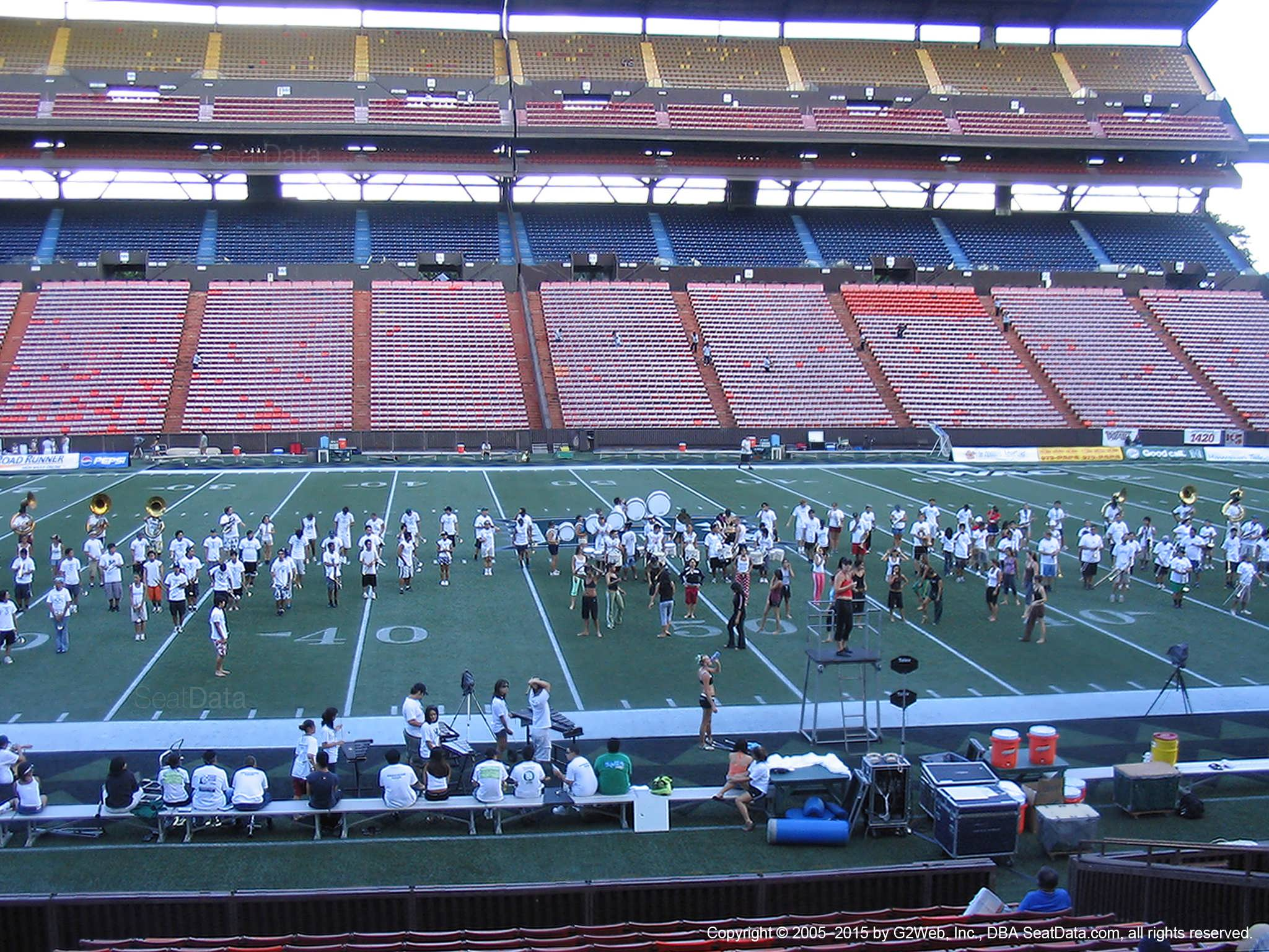 Seat View for Aloha Stadium Orange L