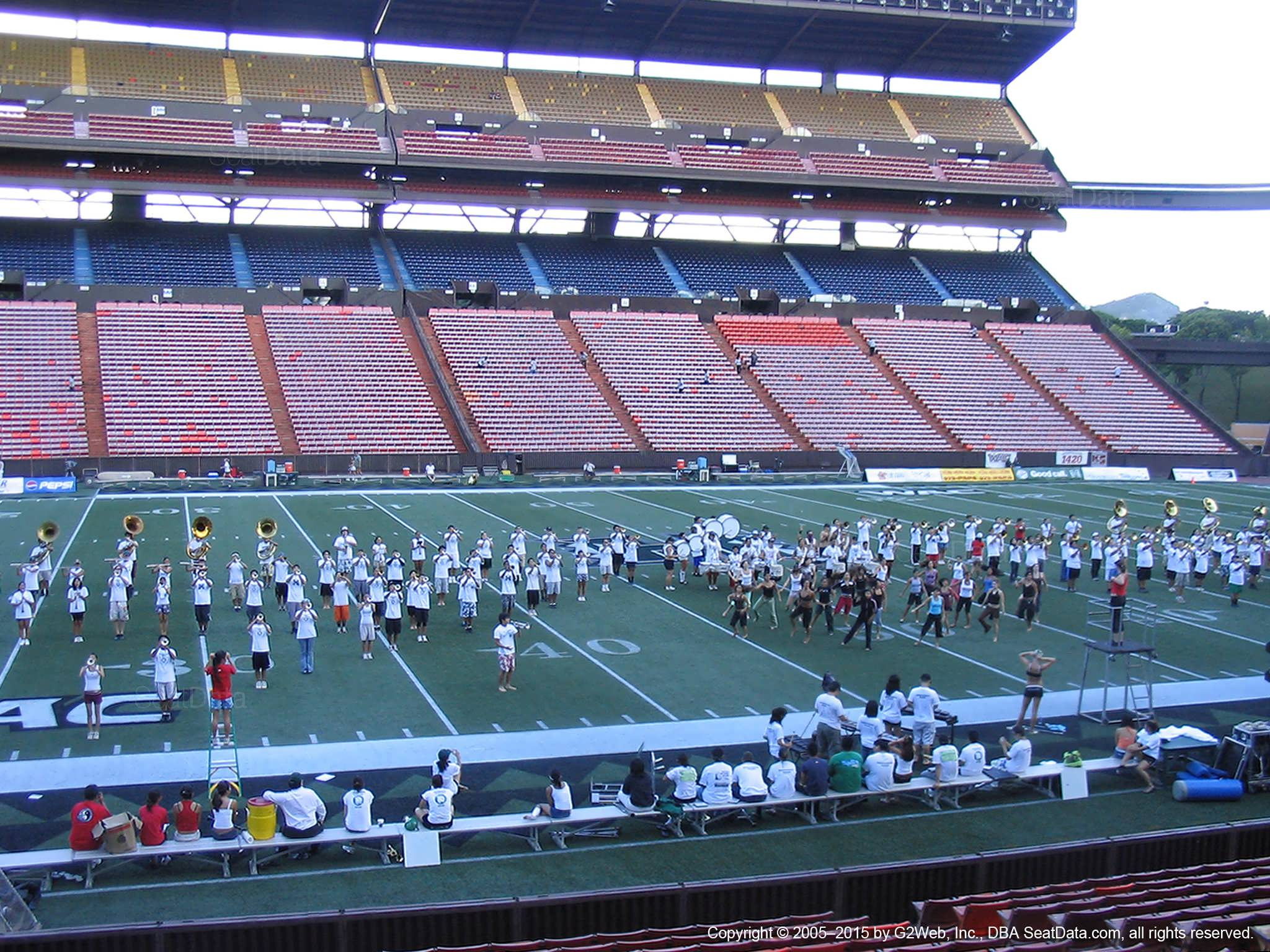Aloha Stadium Orange M - RateYourSeats com