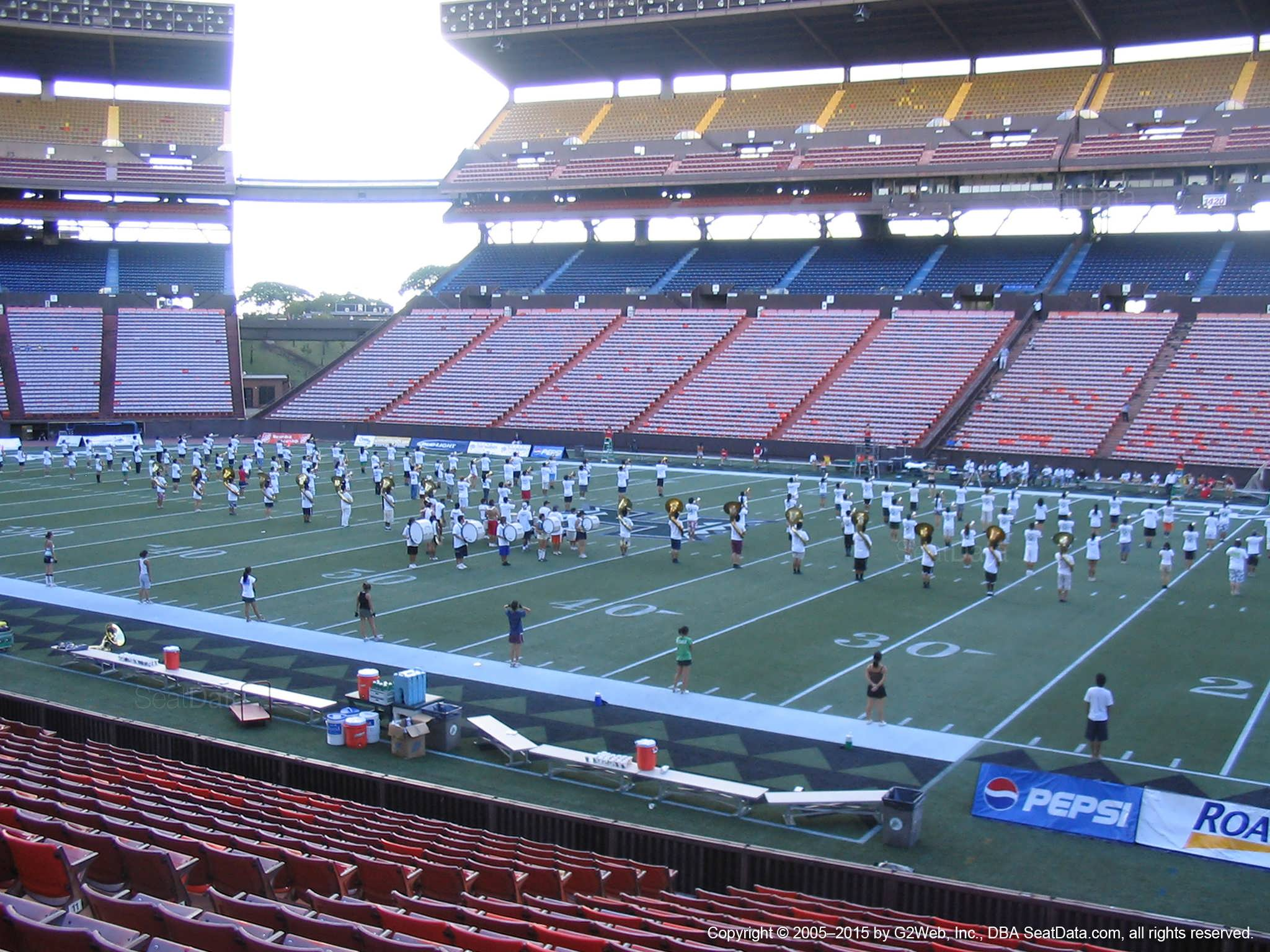 Aloha Stadium Orange NN - RateYourSeats com