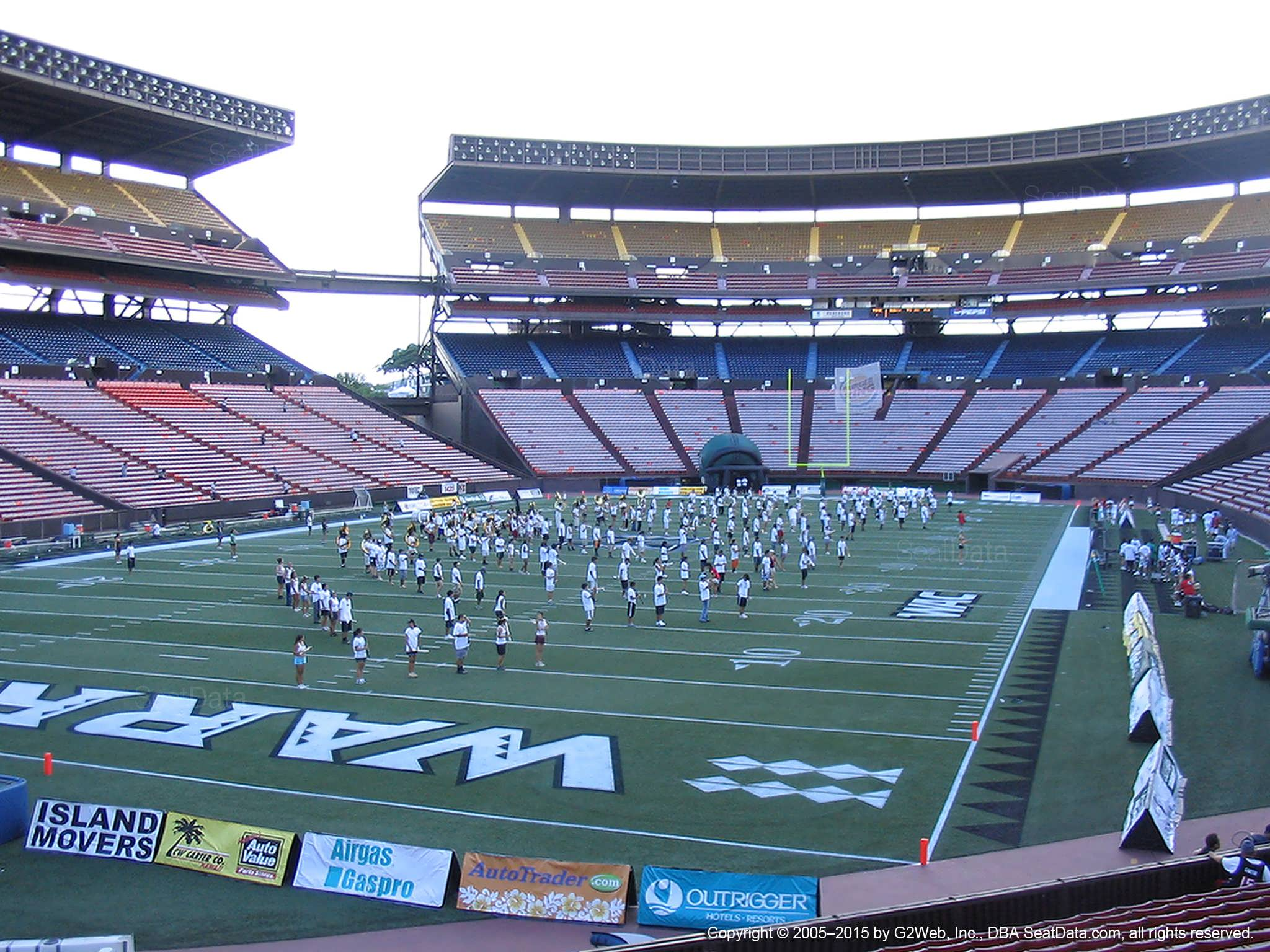 Seat View for Aloha Stadium Orange S