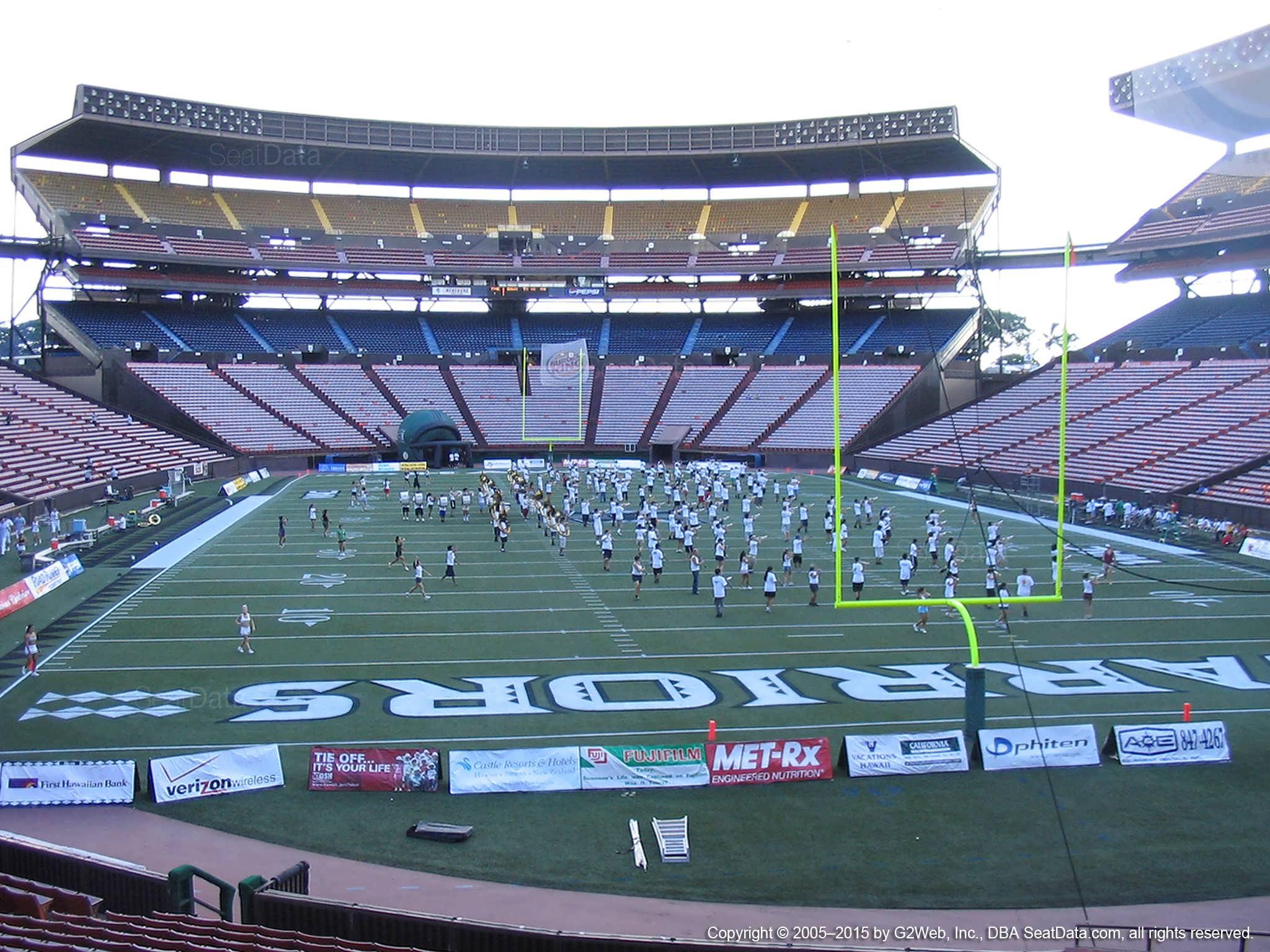 Aloha Stadium Orange UU - RateYourSeats com