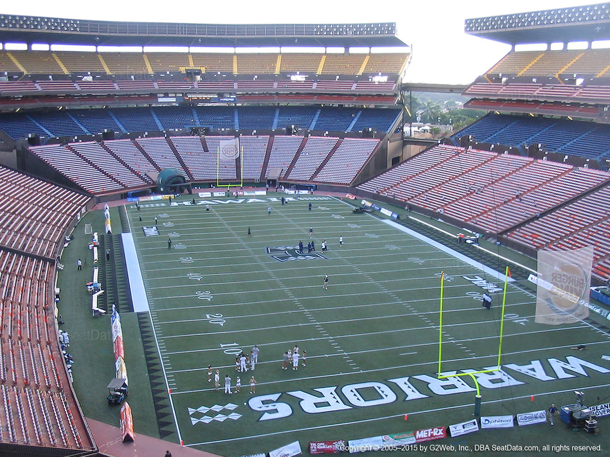 Seat View for Aloha Stadium Red TT