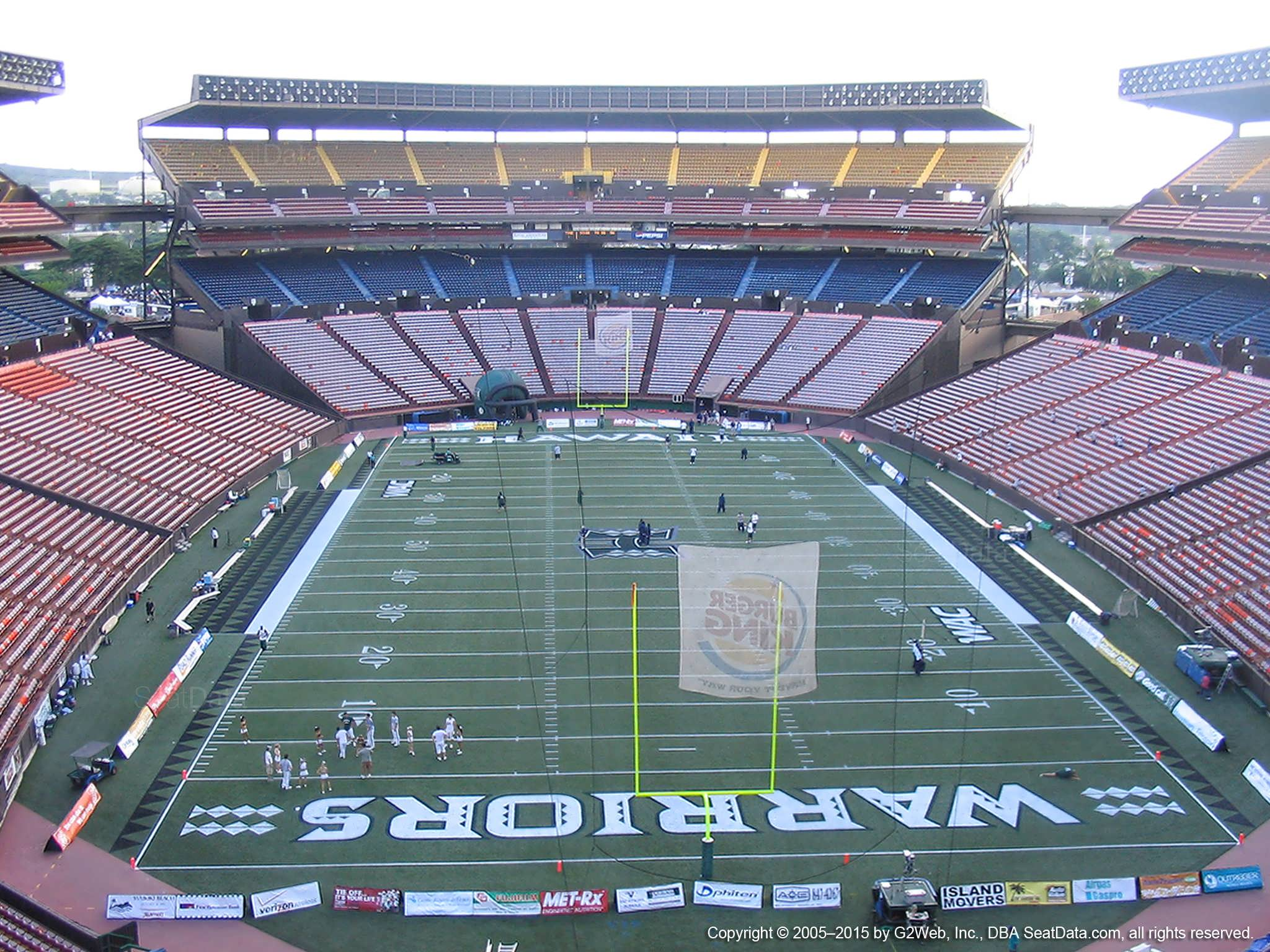Seat View for Aloha Stadium Red VV