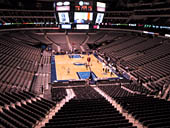 Dallas Mavericks Seat View for American Airlines Center Section 202