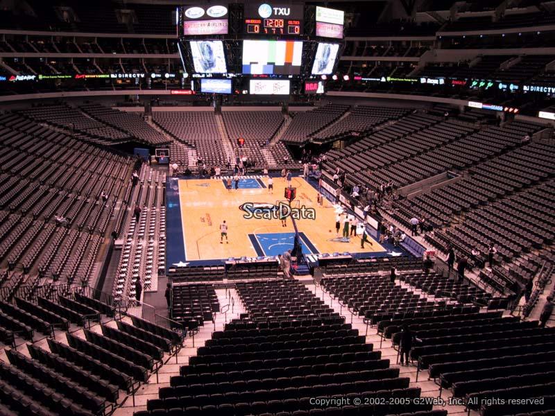 American Airlines Center Section 202 Dallas Mavericks