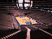 Dallas Mavericks Seat View for American Airlines Center Section 203