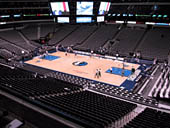 Dallas Mavericks Seat View for American Airlines Center Section 207