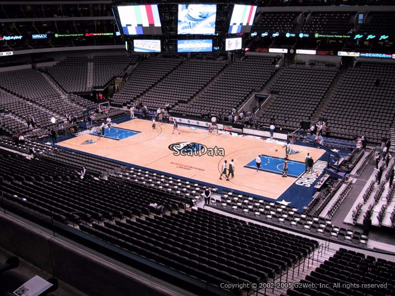 American Airlines Center Section 207 Dallas Mavericks