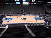Dallas Mavericks Seat View for American Airlines Center Section 210
