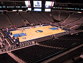 Dallas Mavericks Seat View for American Airlines Center Section 212