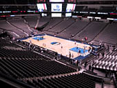 Dallas Mavericks Seat View for American Airlines Center Section 214