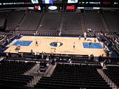 Dallas Mavericks Seat View for American Airlines Center Section 217