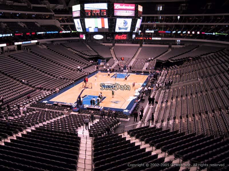 American Airlines Center Section 224 Dallas Mavericks