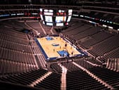 Dallas Mavericks Seat View for American Airlines Center Section 303