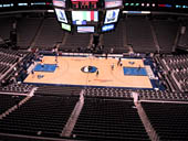 Dallas Mavericks Seat View for American Airlines Center Section 309