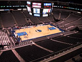 Dallas Mavericks Seat View for American Airlines Center Section 312
