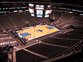 Dallas Mavericks Seat View for American Airlines Center Section 313