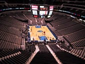 Dallas Mavericks Seat View for American Airlines Center Section 319