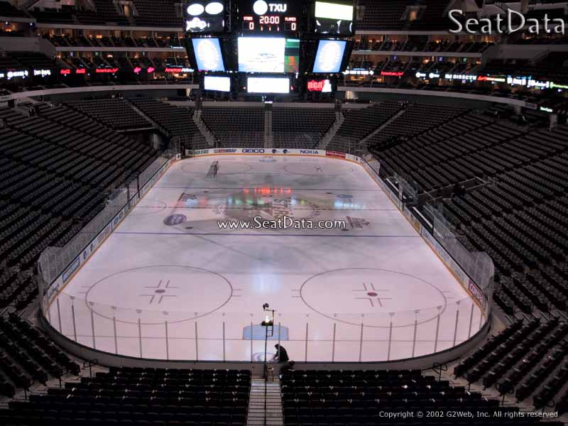 American Airlines Center Section 201 Dallas Stars