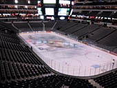 Dallas Stars Seat View for American Airlines Center Section 204